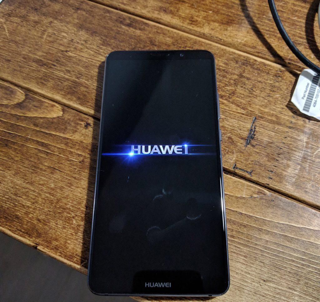 HUAWEI Mate 10 Proの起動画面その2