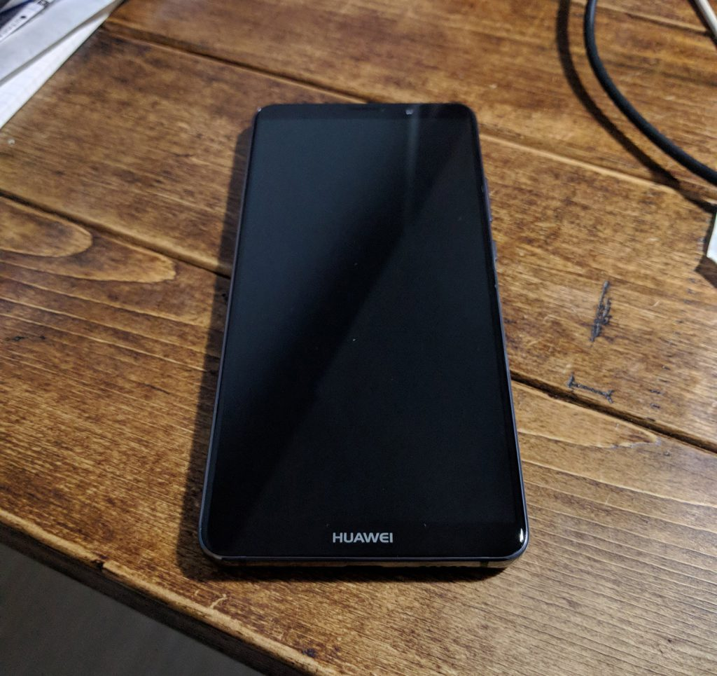 HUAWEI Mate 10 Proの表面